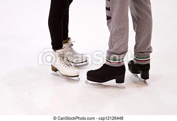 ice skating  - csp12126448