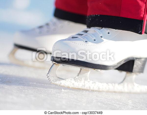 Ice Skating - csp13037449