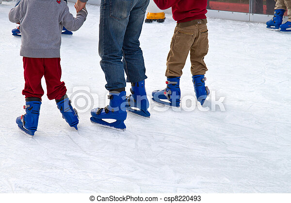 ice skating  - csp8220493