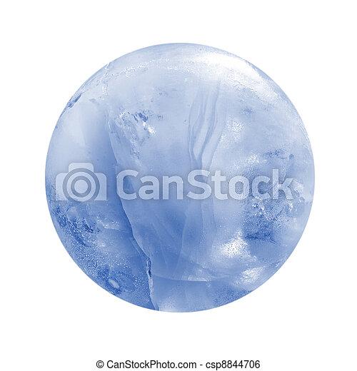 Ice sphere - csp8844706