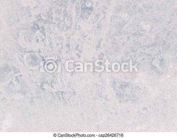 ice surface - csp26426716