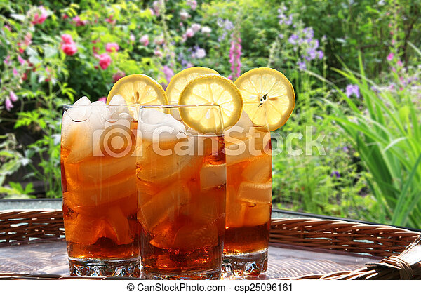 Ice tea - csp25096161