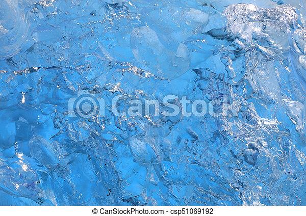 Ice texture background - csp51069192