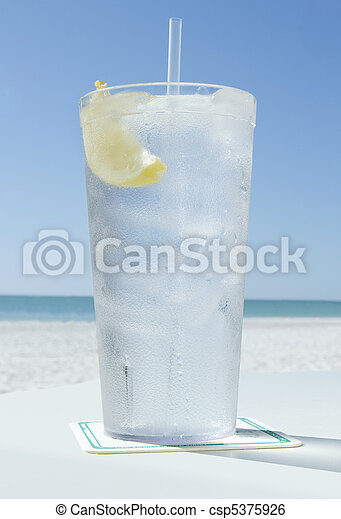 ice water in summer - csp5375926