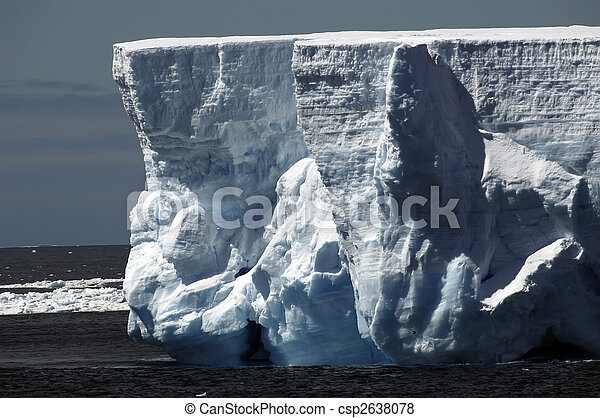 Iceberg walls - csp2638078