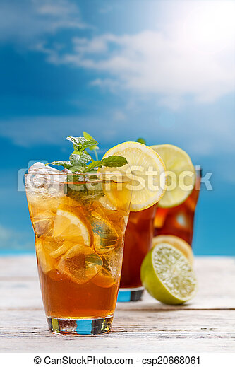 Iced tea - csp20668061