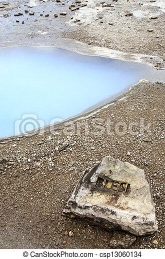 Iceland-Haukadalur-Blesi Geysir - csp13060134