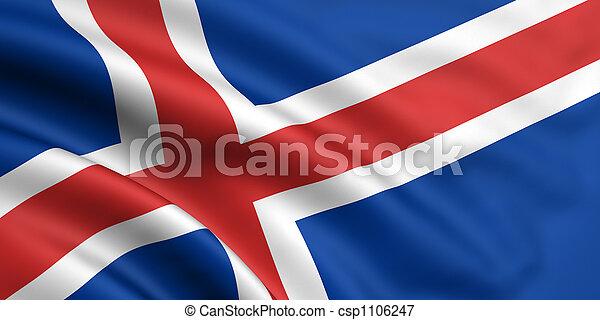 iceland vlag - csp1106247