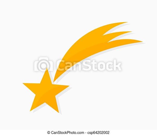 icon., étoile filante - csp64202002
