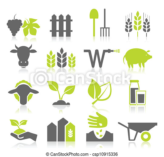Icon agriculture - csp10915336