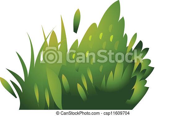 icon bush  - csp11609704