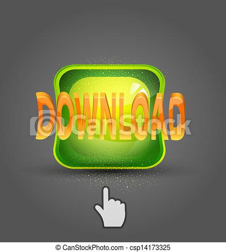 icon download and cursor - csp14173325
