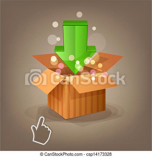 icon download and cursor - csp14173328