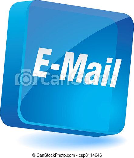icon., e-mail - csp8114646