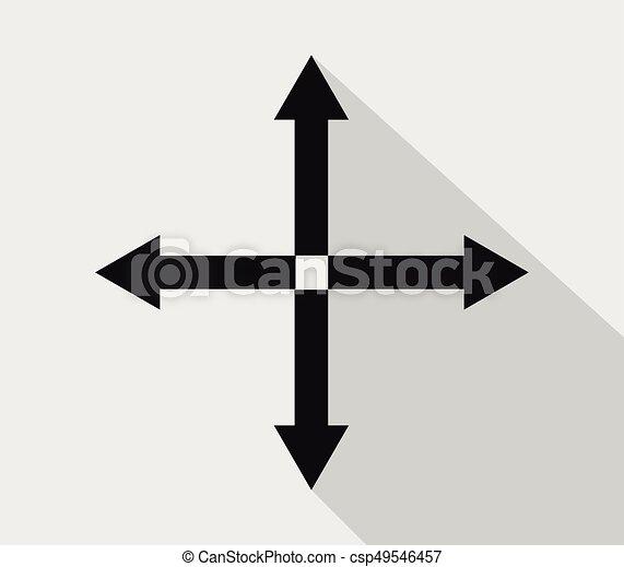 Icon expand arrow
