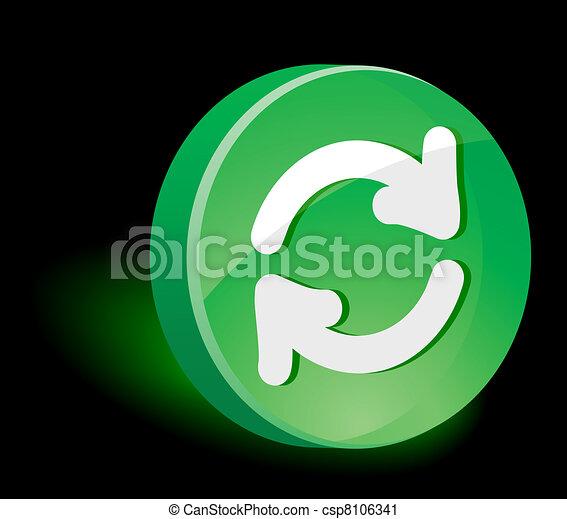 icon., felfrissít - csp8106341