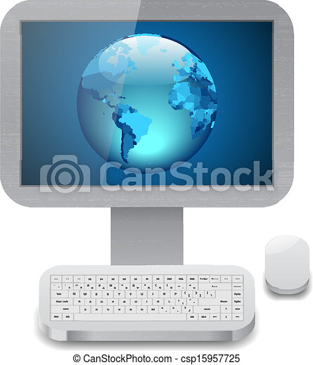 Icon for personal computer - csp15957725