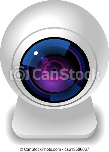 Icon for webcam - csp13586067