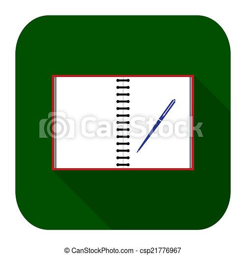 Icon notebook - csp21776967