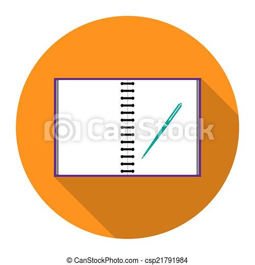 Icon notebook - csp21791984