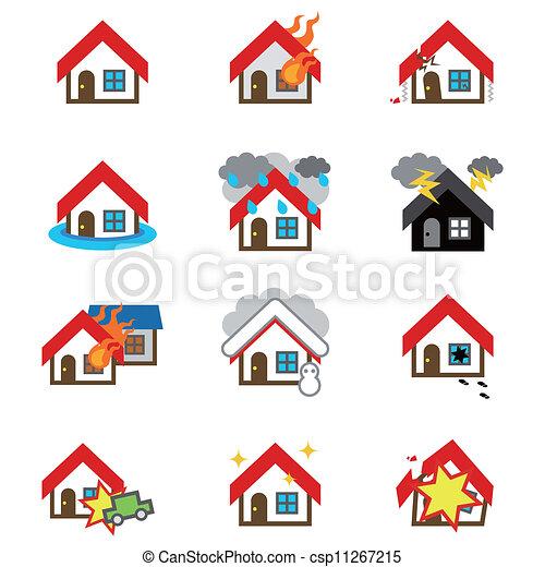 Icon of house - csp11267215