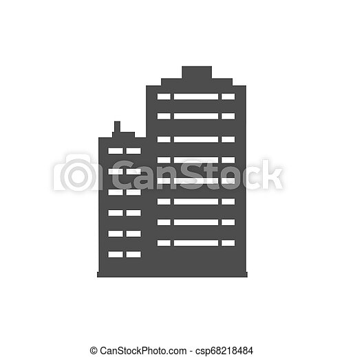 Icon of real estate - csp68218484