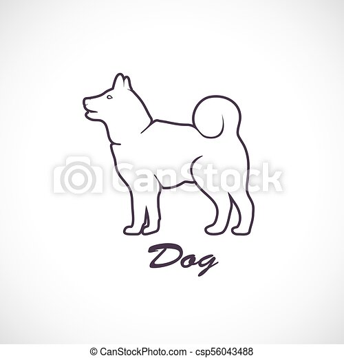 Icon of the dog - csp56043488