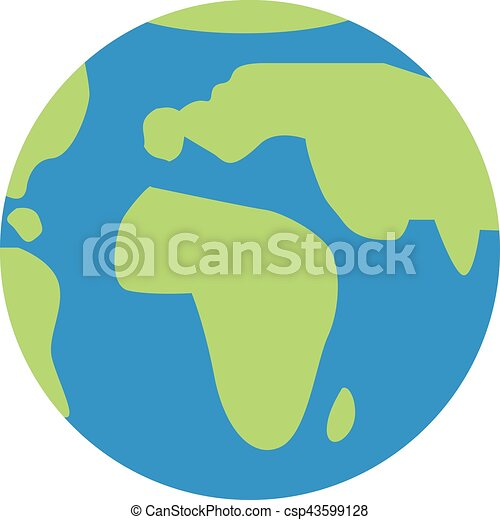 icon of world globe vector illustration search clipart drawings rh canstockphoto ie globe vector artwork globe vectoriel free