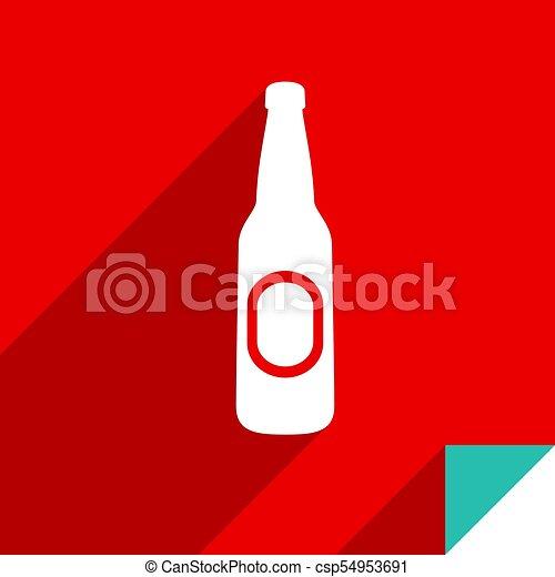 Icon on square sticker - csp54953691
