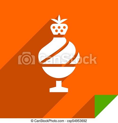 Icon on square sticker - csp54953692