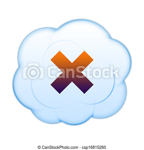 Icon on the clouds - csp16815260