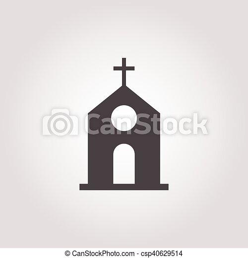 icon on white background - csp40629514