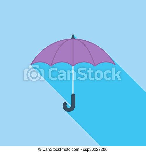 icon., parapluie - csp30227288