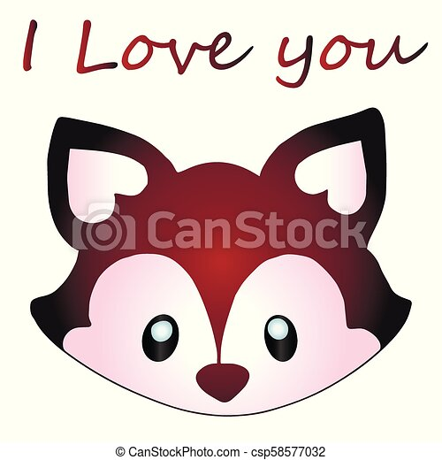 icon raccoon on isolated background, vector - csp58577032