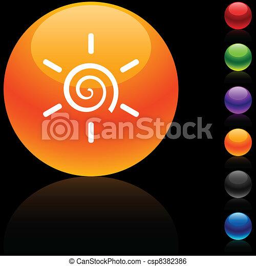 icon., sole - csp8382386