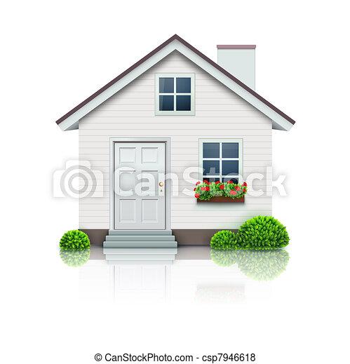 icona casa - csp7946618