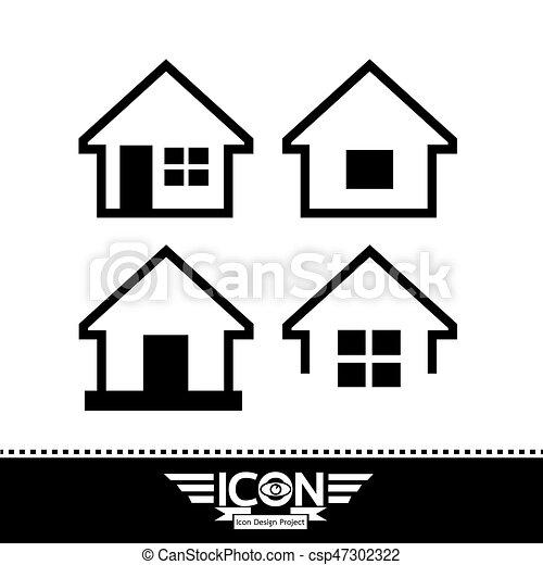icona casa - csp47302322
