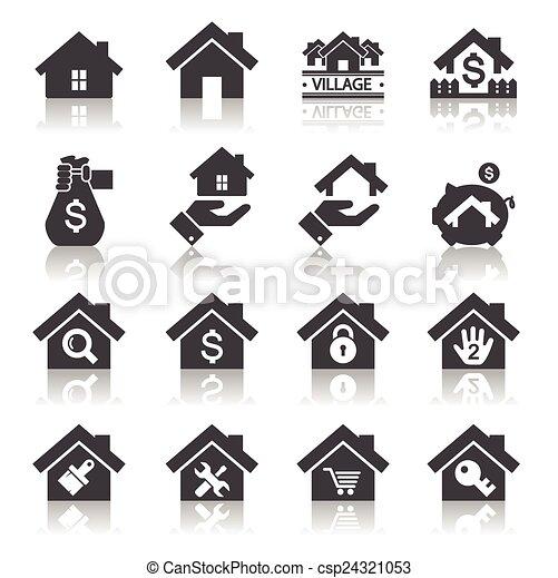 icona casa - csp24321053