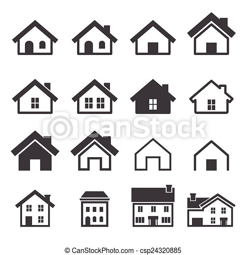 icona casa - csp24320885