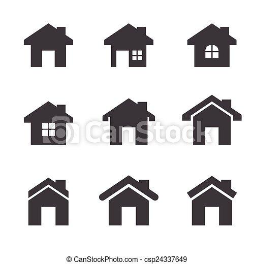 icona casa - csp24337649