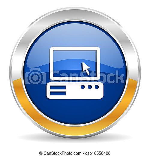 icona computer - csp16558428