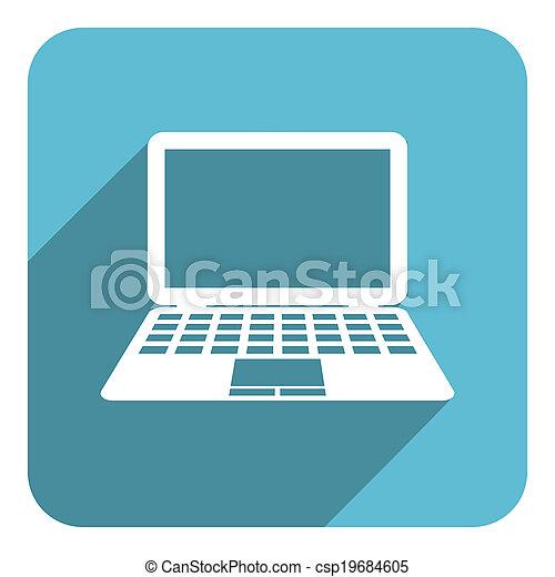 icona computer - csp19684605