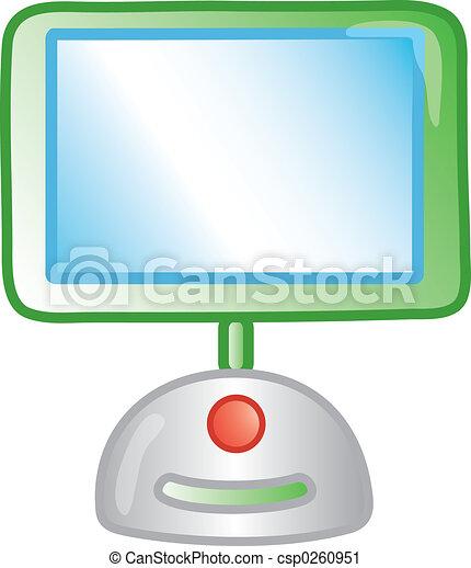 icona computer - csp0260951