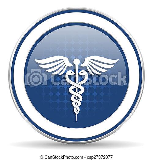 icona, ospedale, segnale emergenza - csp27372077
