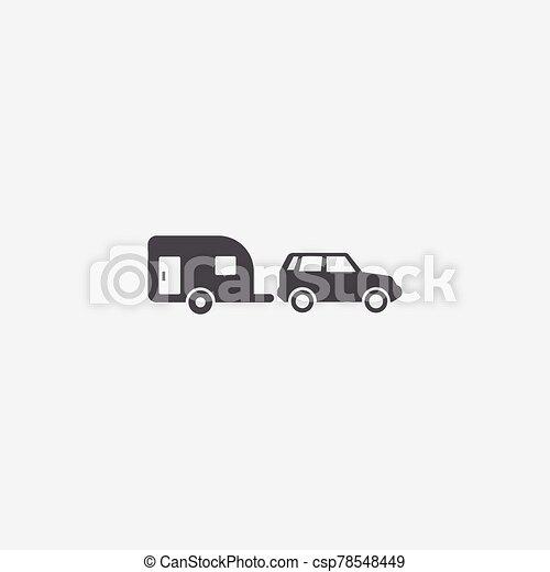 icona, roulotte - csp78548449