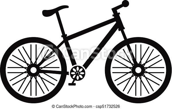 Icona Semplice Stile Bicicletta