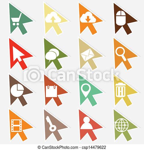 icone fotoricettore - csp14479622