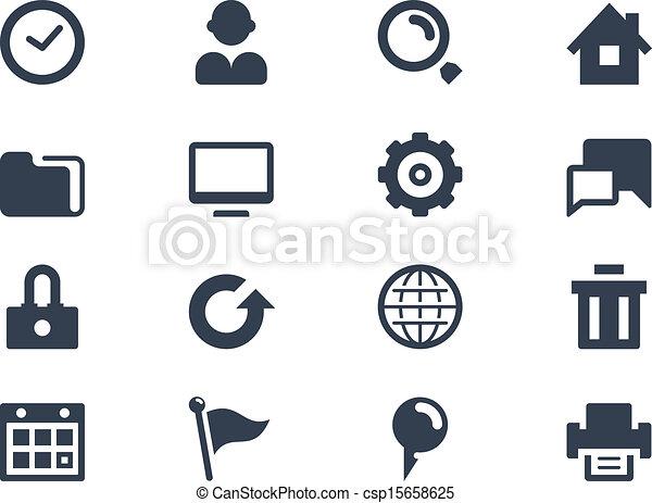 icone fotoricettore - csp15658625