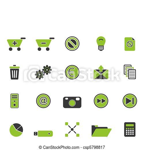 icone fotoricettore - csp5798817