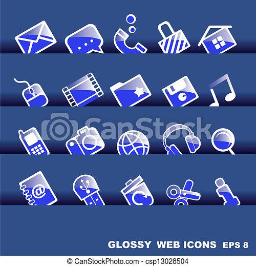 icone fotoricettore - csp13028504